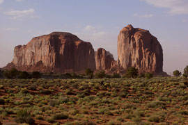 Monument Valley, Arizona: Spearhead Mesa