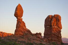 Moab, Utah, Arches National Park: Balanced Rock
