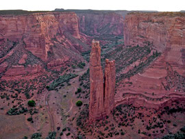 Canyon de Chelly, Arizona: Spider Rock Overlook