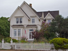 California,  Mendocino: local architecture