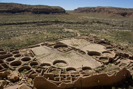 Chaco Canyon, New Mexico: Pueblo Bonito