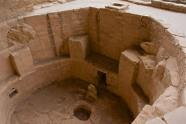 Mesa Verde, Colorado: a kiva at Spruce Tree House