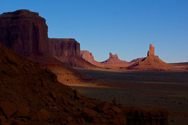 Monument Valley, Arizona: view from the North Window