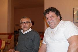 Franz mit dem Büroleiter des Behindertenanwaltes, Mag. Johann Giebitz