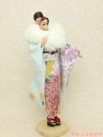 Fashion Royalty kimono,FR 着物,MISAKI 振袖