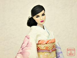 Fashion Royalty kimono,FR 着物,Agnes 振袖