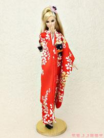 Fashion Royalty kimono,FR 着物,Giselle 振袖