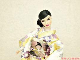 Fashion Royalty kimono,FR 着物,Integrity 振袖