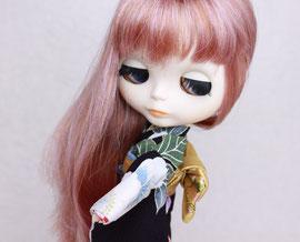Blythe kimono,Blythe dress,Blythe outfit,ブライス着物,ブライス振袖,ブライス和服