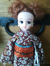 リカちゃんフレンド,リカちゃん着物,リカちゃん振袖,リカちゃん和服,Licca kimono,Licca dress,Licca outfit