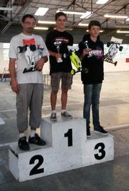 Le podium en TT 4x2