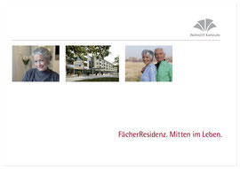 Kommunale Dienstleister: Naming, Konzeption und Text Imagebroschüre für Wohnen im Alter, erstellt bei HINKEL360.