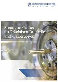 Hidden Champions: Konzeption und Text Imagebroschüre für PREGAG, Premium-Partner für Präzisions-Drehteile und -Baugruppen, erstellt  bei HINKEL360.