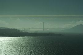 Golden Gate Bridge aus der Ferne