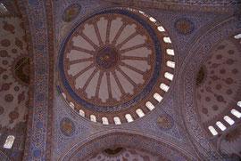 """Istanbul - im Inneren der """"Blauen Moschee"""""""