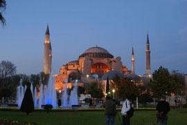 Sultan-Ahmed-Moschee mit Wasserspielen