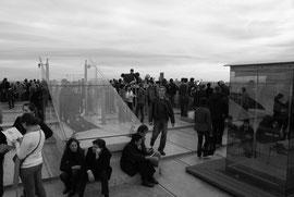 Paris auf dem Arc de Triomphe