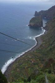 Küstenlandwirtschaft bei Santana, Madeira