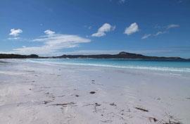 Einsame Badebucht in Westaustralien