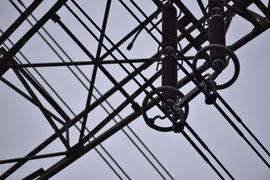 Detail Stromleitung