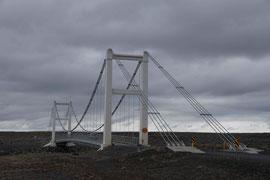 Brücke auf der Ringstraße in Island
