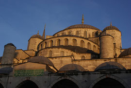 Istanbul - Sultan-Ahmed-Moschee (bekannt auch als Blaue Moschee)