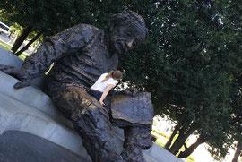 Washington - Einstein bei der Wissensvermittlung