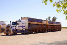 Road Train in Westaustralien