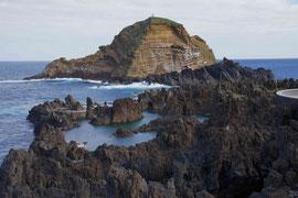 Lavaküste Porto Moniz, Madeira