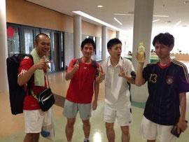 3部で優勝し、2部に昇格したウィスタリアAチーム(写真その2)