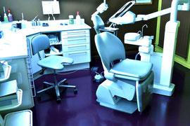 Résine polyuréthane dans un cabinet dentaire