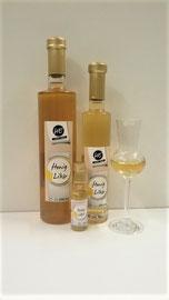 Honiglikör, die Verbindung von Waldhonig und Weinbrand