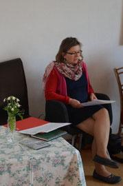 Lesung Gabriele Aigner,  Musik ElisaPat