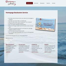 "Design ""Malaga"" Homepage-Baukasten-Service"