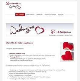 """Design """"Prague"""" Werbung für Kleinunternehmer"""