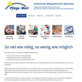 """Design """"Prague"""" Pflegedienst"""