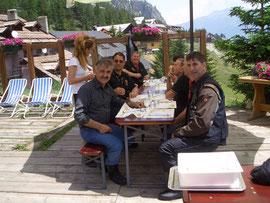 Giugno-2012 - Gita nel Verdon  ( pausa rifornimento )