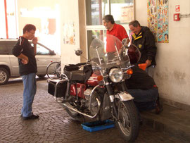 Dolomiti 2006 - Pit stop veloce