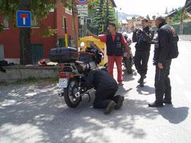 Giugno 2012 - Gita nel verdon ( l'inprevisto è sempre in  agguato ,per tutti )