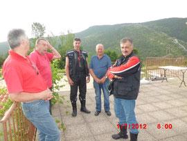 Giugno - 2012 - Gita nel Verdon ( sosta di riflessione )