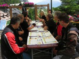 Giugno - 2012 - Gita nel Verdon ( pausa rifornimento )