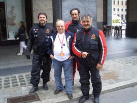 4 Giugno 2011 - Sei Giorni di Varese - Con il vincitore del 1951 (  Giuseppe Cau )