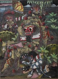 Toile Balinaise tendue par Cadre de Vie