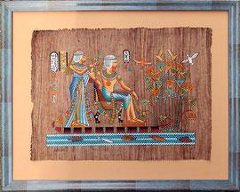 Papyrus encadré par Cadre de Vie