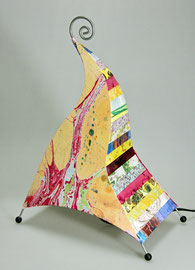papiers décorés à l'atelier