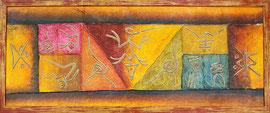 tension de toile sur chassis République dominicaine par l'atelier cadre de vie