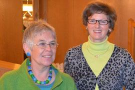 Marion Buchheister und Andrea Beckdorf