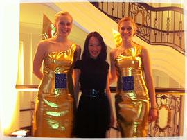 2 Engel für Aimee bei der DVZ LEO Gala 2012