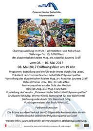 Einladung  / Plakat zur Veranstaltung