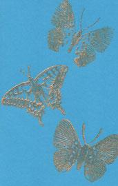 Schmetterlinge blau C6